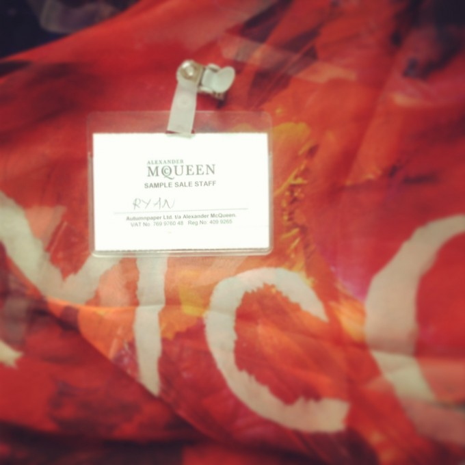McQ Sample Sale