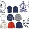 BOY NAVY SAIL